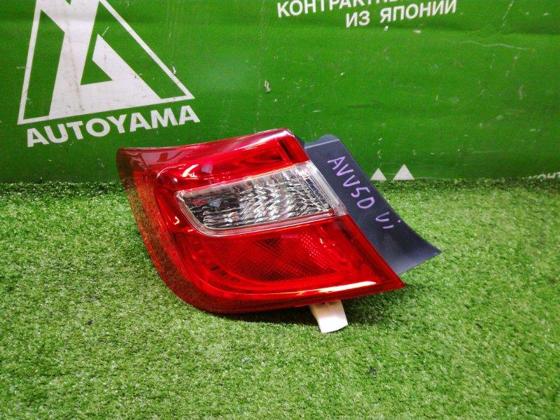 Фонарь Toyota Camry AVV50 2ARFXE 2012 задний левый (б/у)