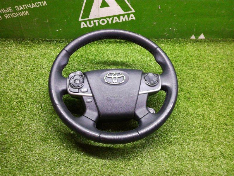 Руль Toyota Camry AVV50 2ARFXE 2012 (б/у)