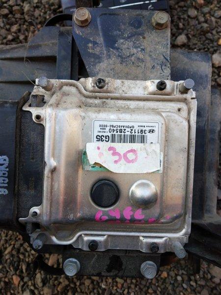 Блок управления двигателем Hyundai I30 FD G4FC 2011 (б/у)