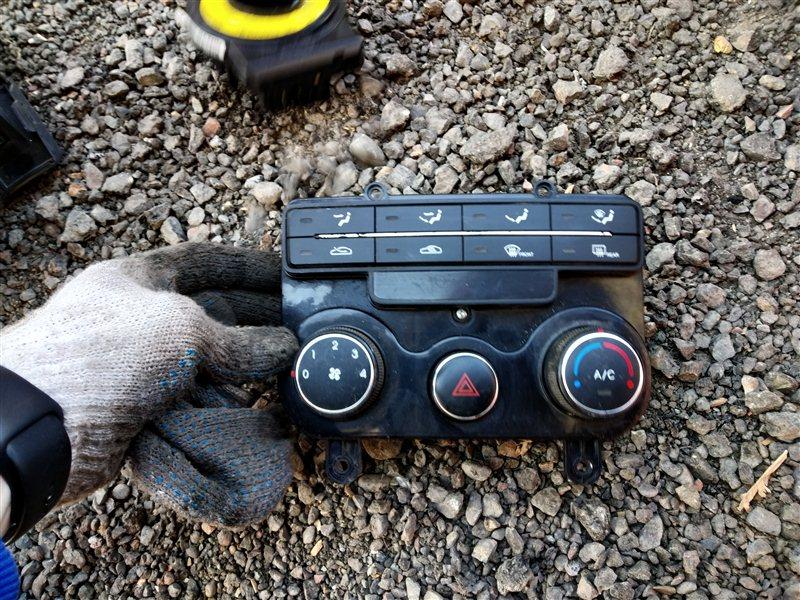 Блок управления климат контролем Hyundai I30 FD G4FC 2011 (б/у)