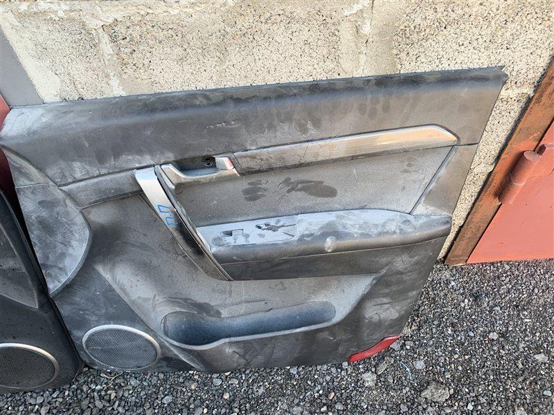 Обшивка двери Daewoo Winstorm KLAC Z20S 2008 передняя правая (б/у)