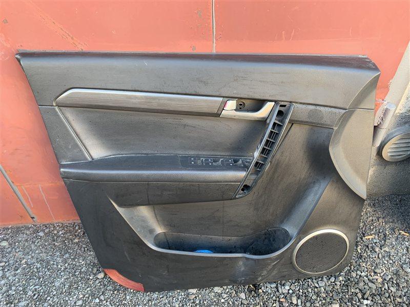 Обшивка двери Daewoo Winstorm KLAC Z20S 2008 передняя левая (б/у)
