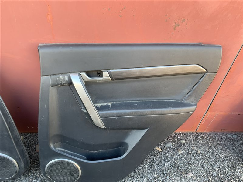 Обшивка двери Daewoo Winstorm KLAC Z20S 2008 задняя правая (б/у)