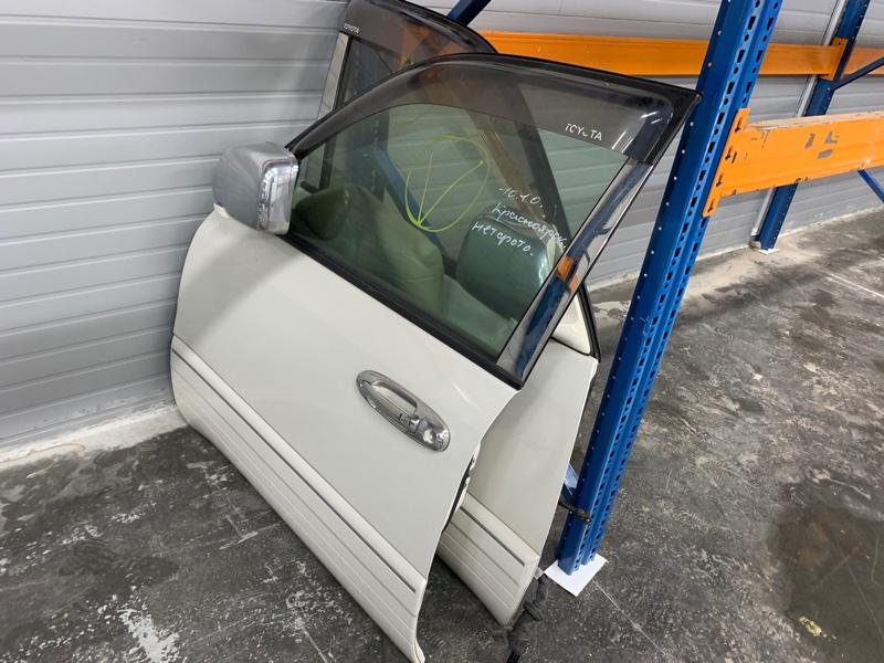 Дверь Toyota Land Cruiser 100 UZJ100 2UZ-FE 2002 передняя левая (б/у)