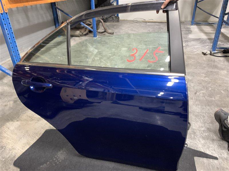 Дверь Toyota Camry 40 ACV40 2AZ-FE 2006 задняя правая (б/у)