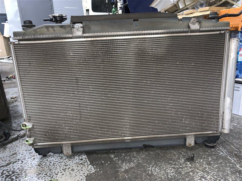 Радиатор кондиционера Toyota Camry 40 ACV40 2AZ-FE 2006 (б/у)