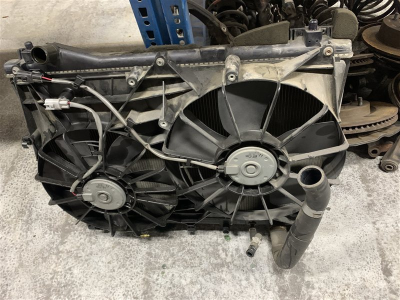 Диффузор Suzuki Grand Vitara TD94W H27A . J24B 2006 (б/у)