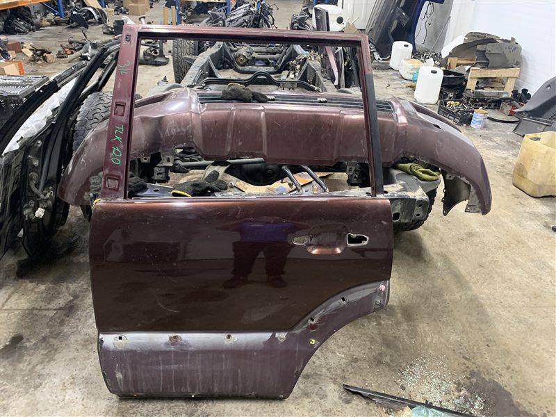 Дверь Toyota Land Cruiser Prado 120 GRJ120-5034079 1GR-FE 2006 задняя левая (б/у)