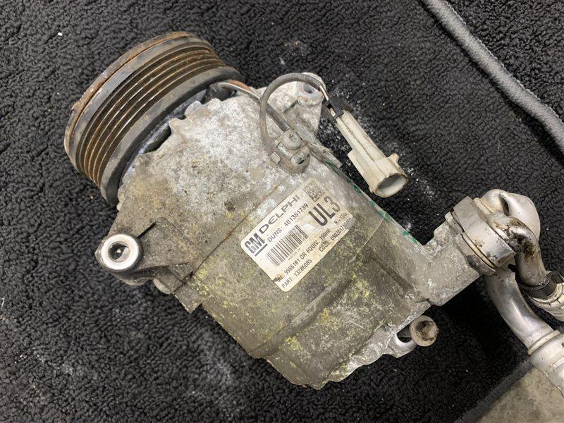 Компрессор кондиционера Opel Zafira B A05 Z16XE1 2007 (б/у)