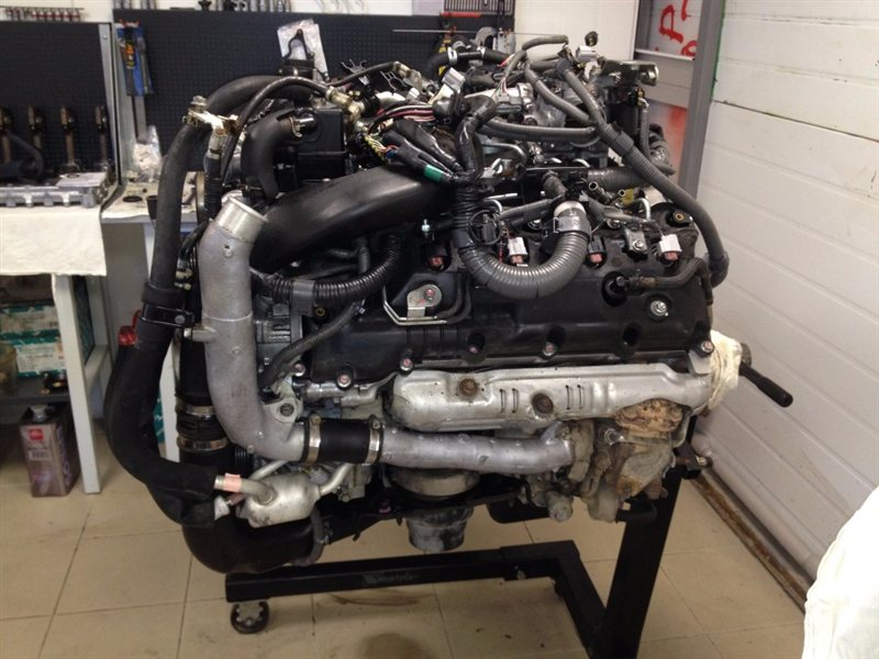 Двигатель Toyota Land Cruiser 200 VDJ200 1VD-FTV 2014 (б/у)