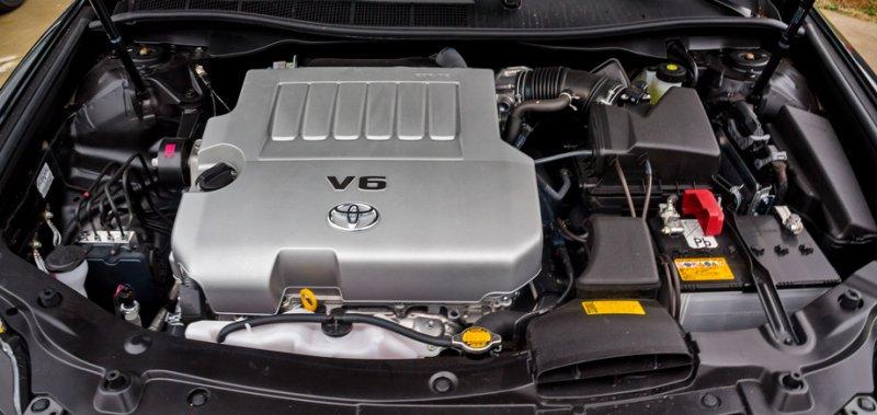 Двигатель Toyota Highlander Xu50 GSU55L 2GR-FE 2013 (б/у)
