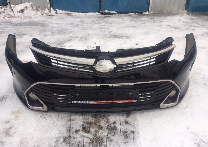 Бампер Toyota Camry Xv55 GSV50 2GR-FE 2014 передний (б/у)