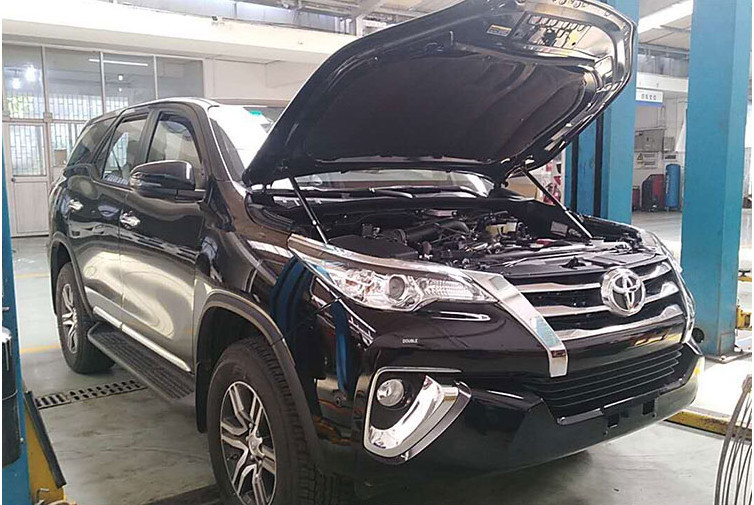 Двигатель Toyota Fortuner An160 GUN156 1GD-FTV 2015 (б/у)