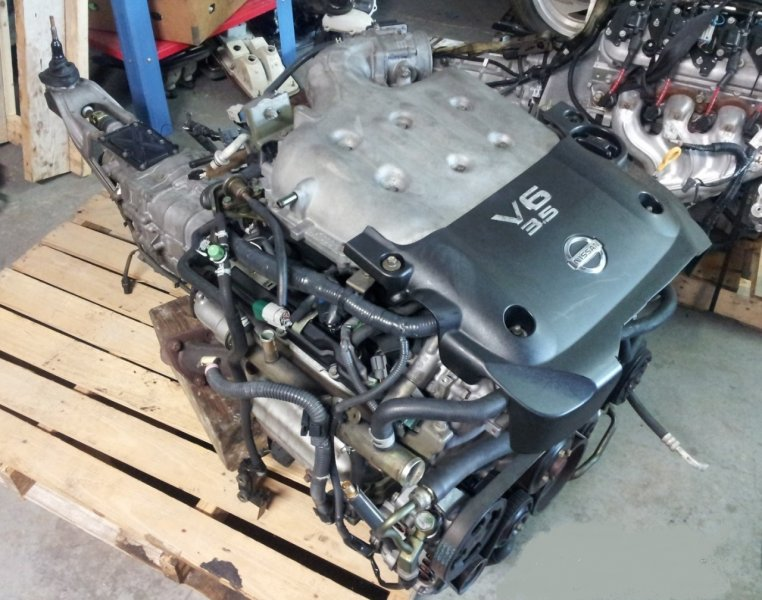 Двигатель Nissan Murano Z51 Z51 VQ35DE (б/у)