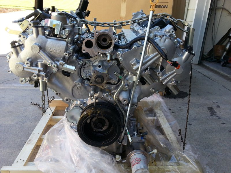 Двигатель Nissan Patrol Y62 Y62 VK56VD 2010 (б/у)