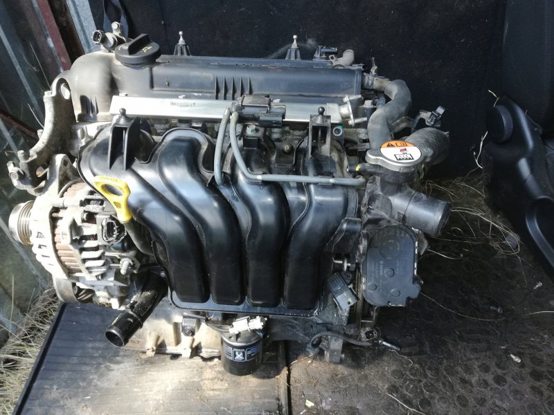 Двигатель Kia Rio FB G4FG 2016 (б/у)