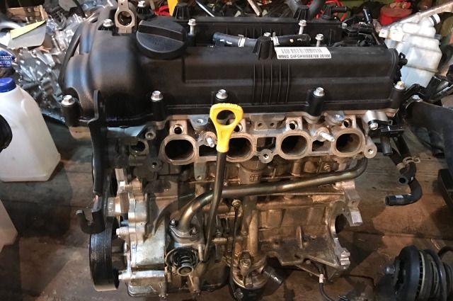 Двигатель Kia Soul AM G4FC 2011 (б/у)