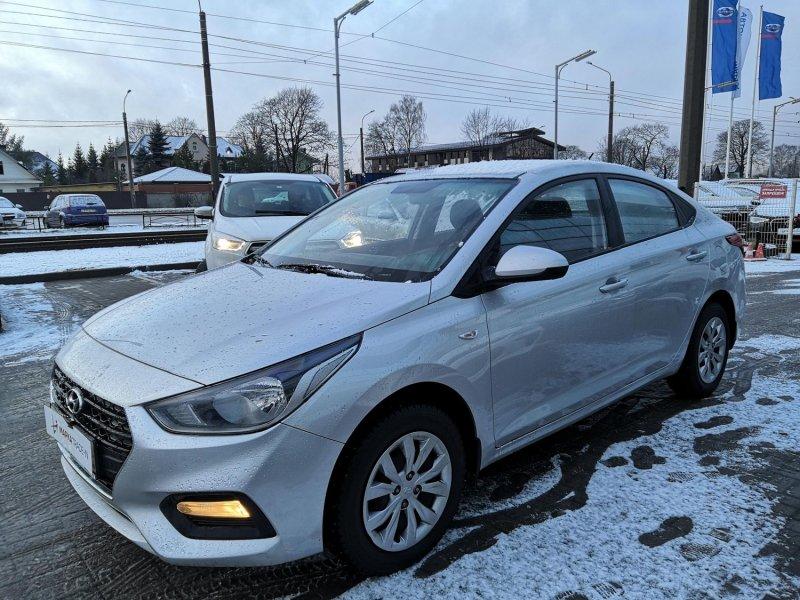 Авто на разбор Hyundai Solaris HCR G4FG 2018 (б/у)