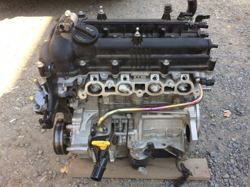 Двигатель Hyundai Solaris HCR G4FG 2018 (б/у)