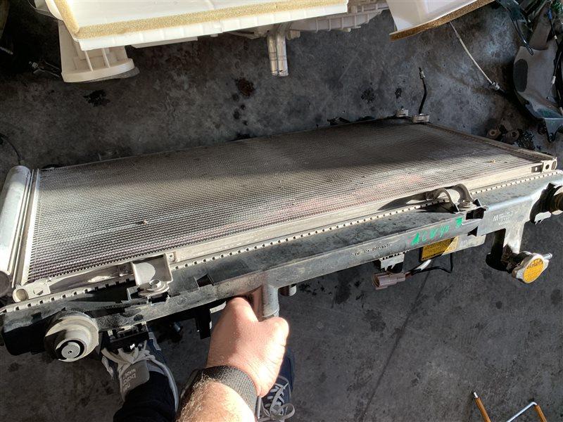Радиатор кондиционера Toyota Camry 40 ACV40 2AZ-FE 2007 (б/у)