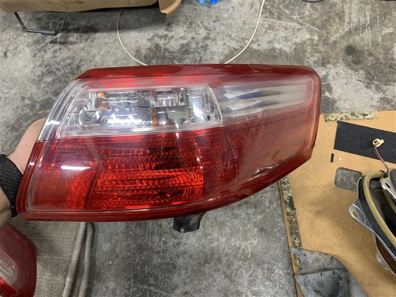 Фонарь задний Toyota Camry 40 ACV40 2AZ-FE 2007 задний правый (б/у)