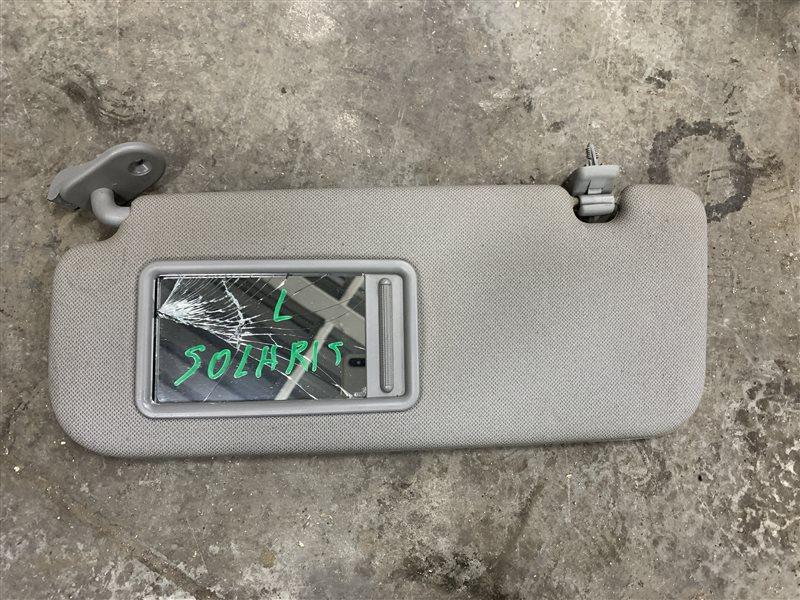 Козырек солнцезащитный Hyundai Solaris RB G4FC 2011 левый (б/у)