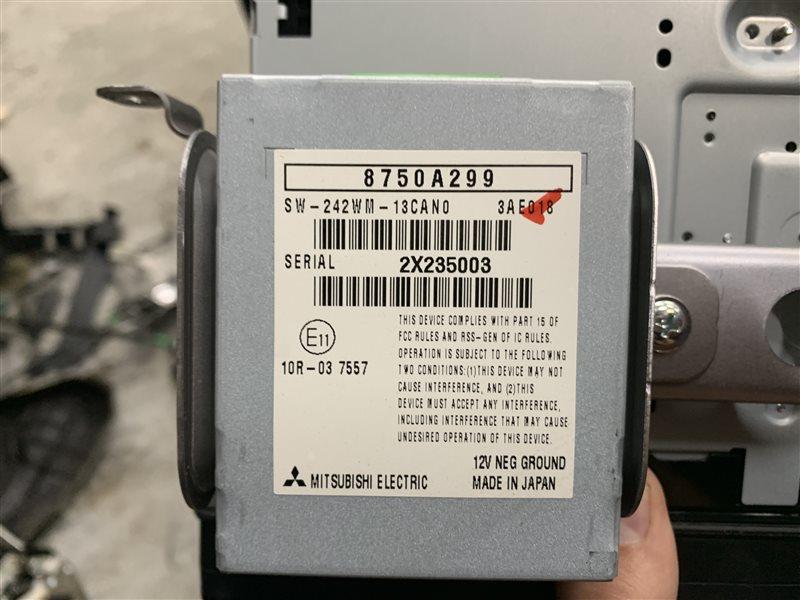Блок управления Mitsubishi Outlander Gf GF3W 4J12 2012 (б/у)