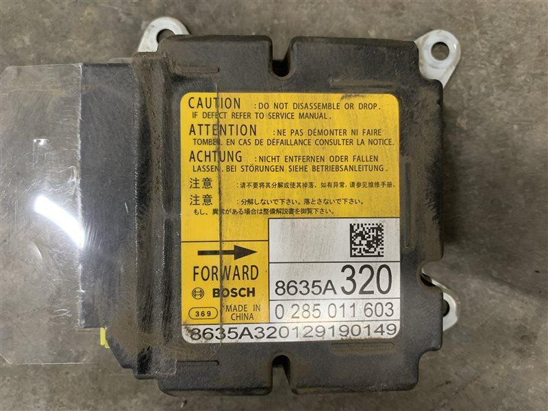 Блок управления аирбаг Mitsubishi Outlander Gf GF3W 4J12 2012 (б/у)