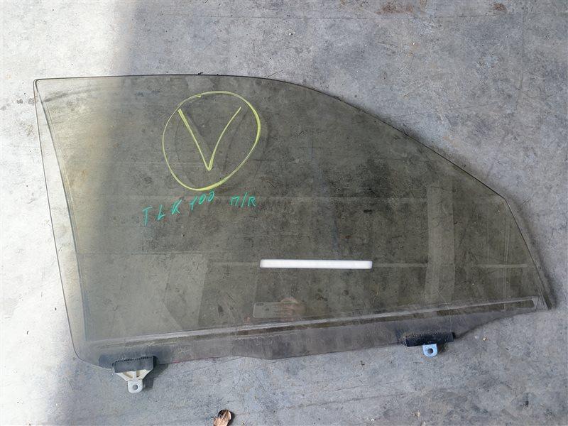 Стекло двери Toyota Land Cruiser 100 UZJ100 2UZ-FE 2002 переднее правое (б/у)