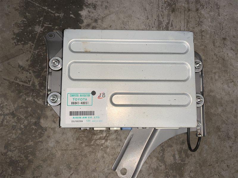 Блок управления навигацией Toyota Harrier Gsu35 GSU36-0001918 2GR-FE 2007 (б/у)