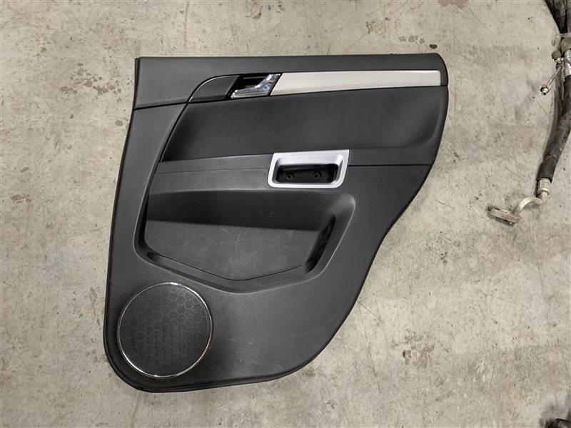 Обшивка двери Opel Antara L07 A22DM 2013 задняя правая (б/у)