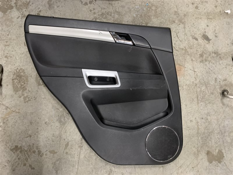 Обшивка двери Opel Antara L07 A22DM 2013 задняя левая (б/у)