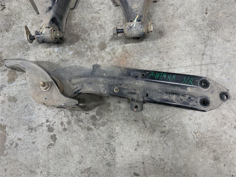 Рычаг продольный Opel Antara L07 A22DM 2013 задний правый (б/у)