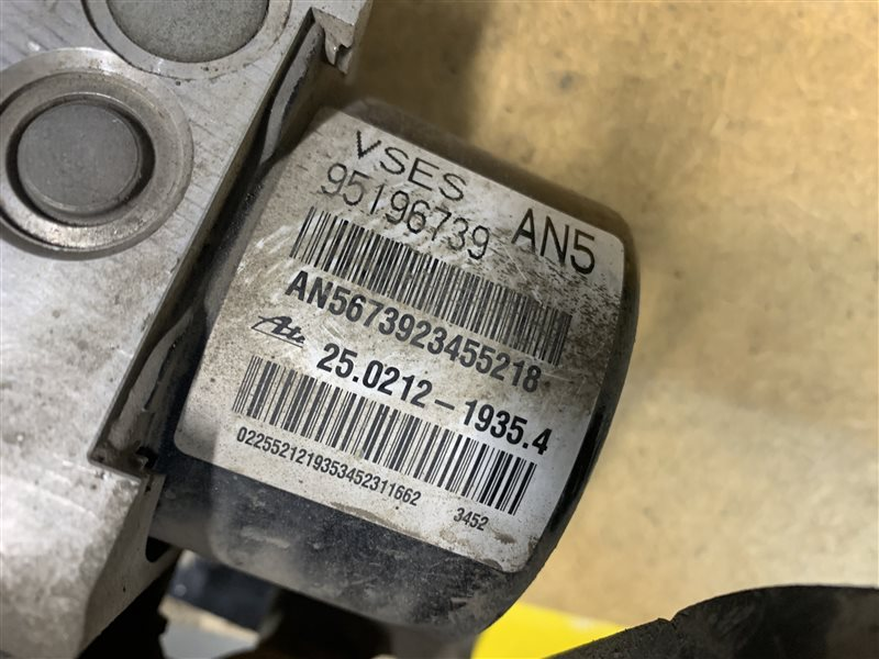 Блок abs Opel Antara L07 A22DM 2013 (б/у)
