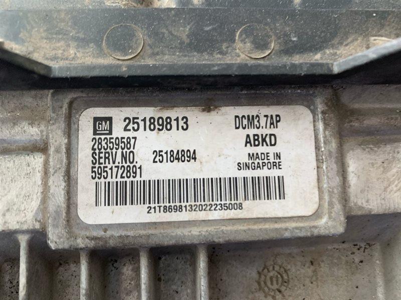 Блок управления двигателем Opel Antara L07 A22DM 2013 (б/у)
