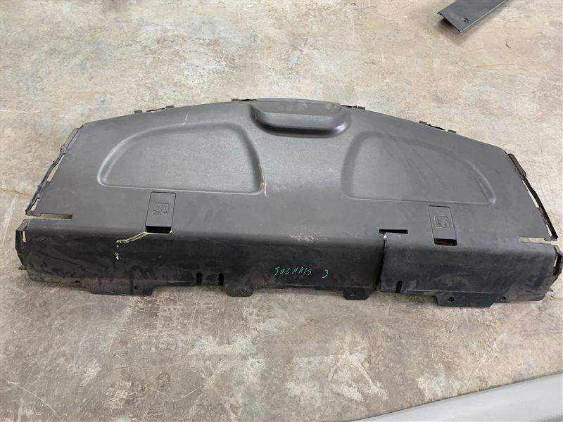Полка багажника Hyundai Solaris RB G4FC 2011 (б/у)