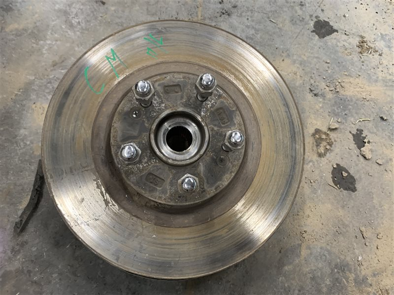 Тормозной диск Hyundai Santa Fe Cm CM G4KE 2011 (б/у)