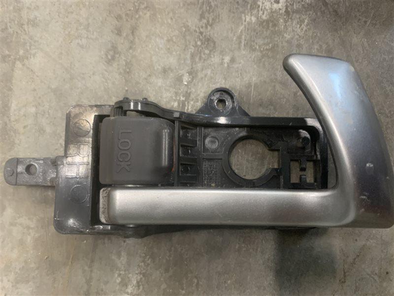 Ручка двери внутренняя Hyundai Santa Fe Cm CM G4KE 2011 задняя правая (б/у)