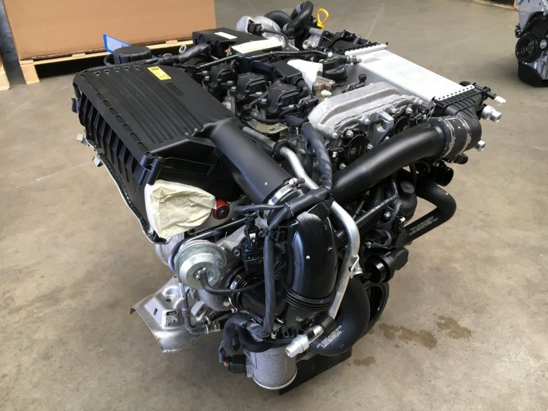 Двигатель Mercedes-Benz C-Class W205 M274 DE 16 AL 2015 (б/у)