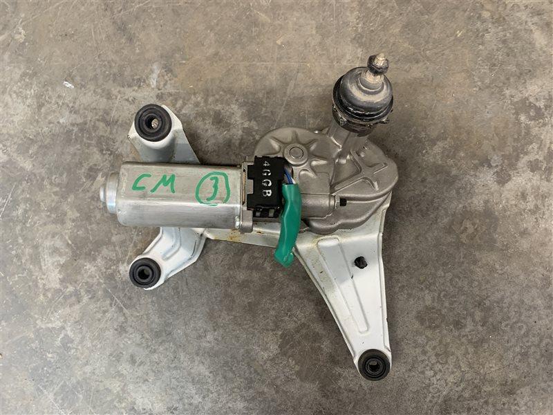 Моторчик стеклоочистителя Hyundai Santa Fe Cm CM G4KE 2011 задний (б/у)