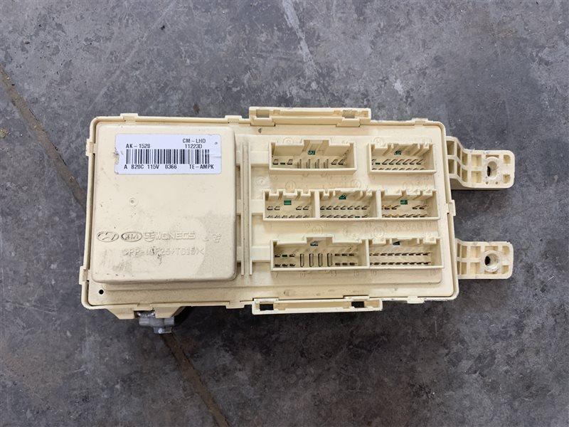 Блок предохранителей Hyundai Santa Fe Cm CM G4KE 2011 (б/у)
