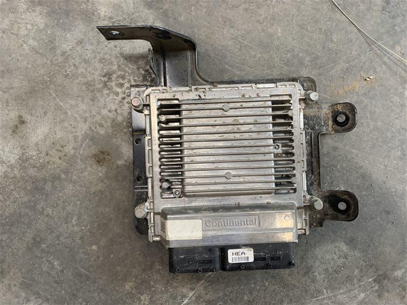 Блок управления двигателем Hyundai Santa Fe Cm CM G4KE 2011 (б/у)