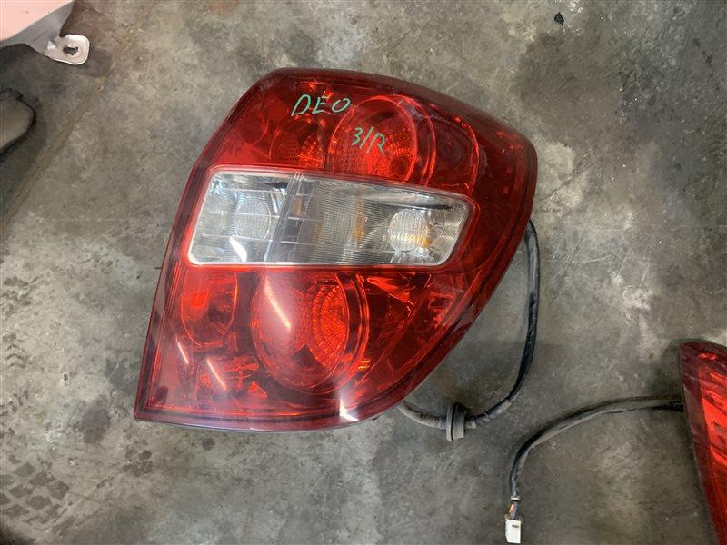 Фонарь стоп-сигнал Chevrolet Captiva C100 C100 Z20S 2010 задний правый (б/у)