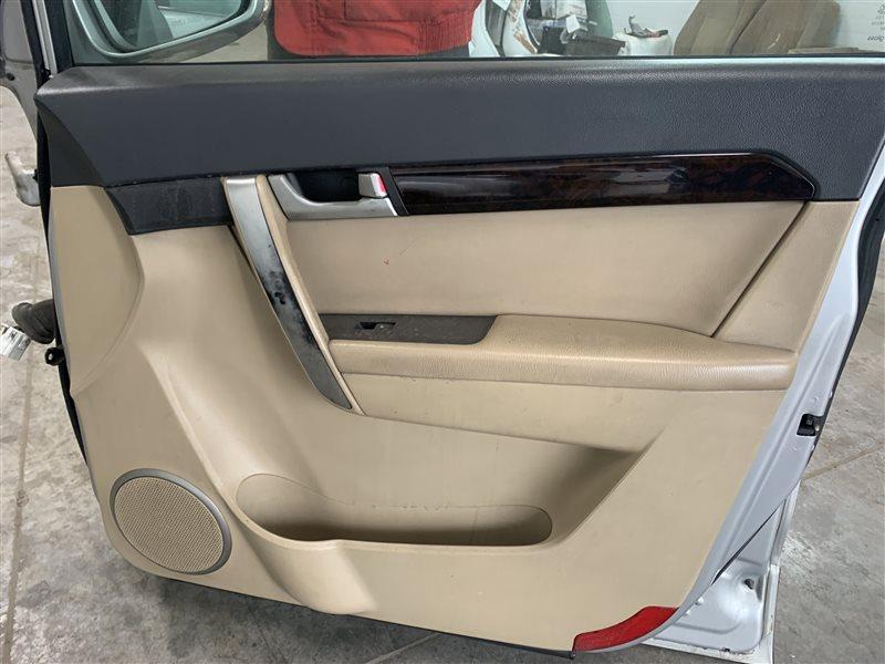 Обшивка двери Chevrolet Captiva C100 C100 Z20S 2010 передняя правая (б/у)
