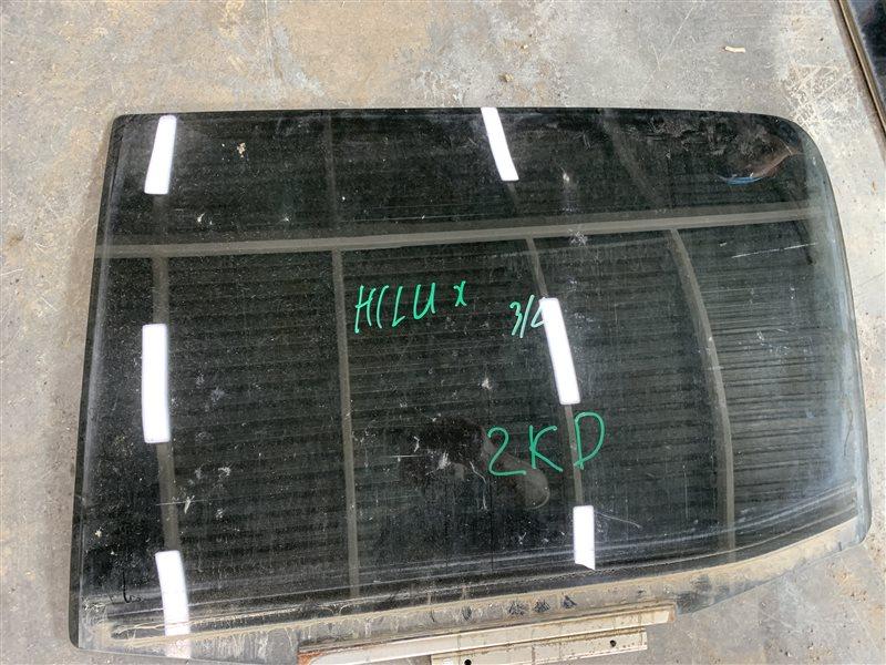 Стекло двери Toyota Hilux Pick Up 2010-2015 KUN25L 2KD-FTV 2015 заднее левое (б/у)