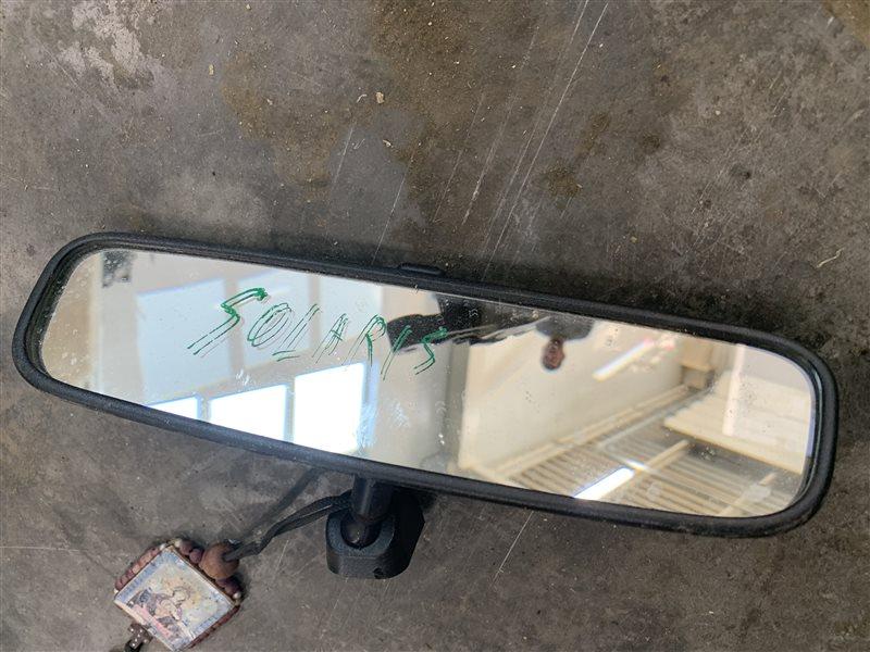 Зеркало заднего вида салонное Hyundai Solaris RB G4FC 2011 (б/у)