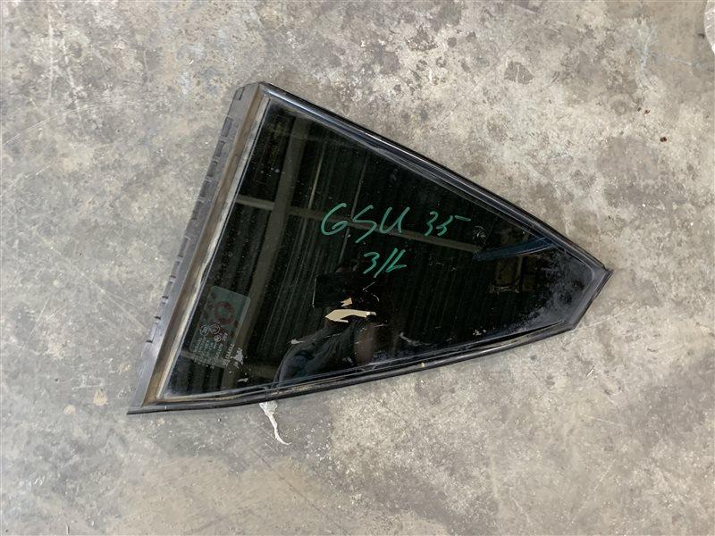 Стекло двери Toyota Harrier Gsu35 GSU36-0001918 2GR-FE 2007 (б/у)