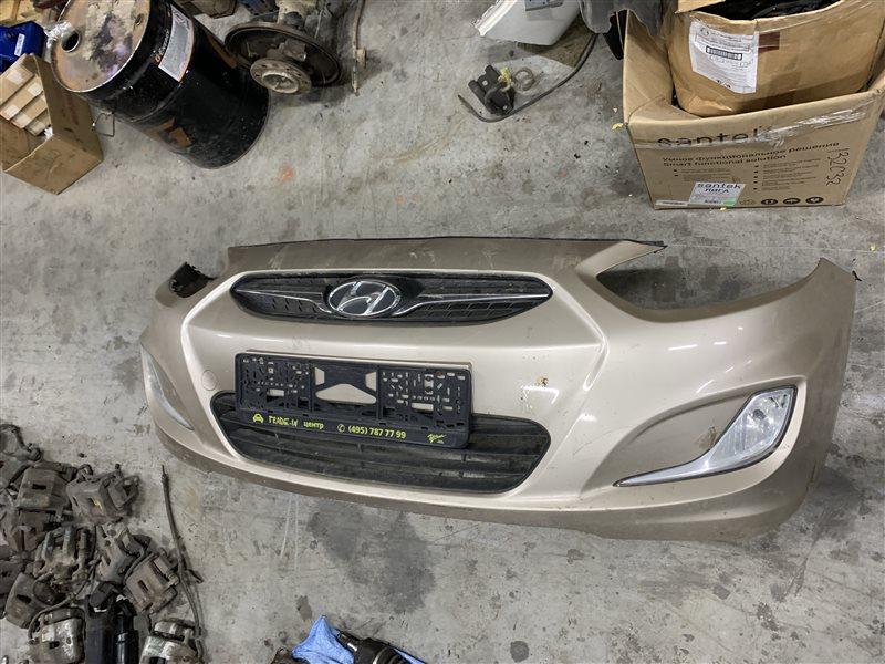 Бампер Hyundai Solaris RB G4FC 2013 передний (б/у)