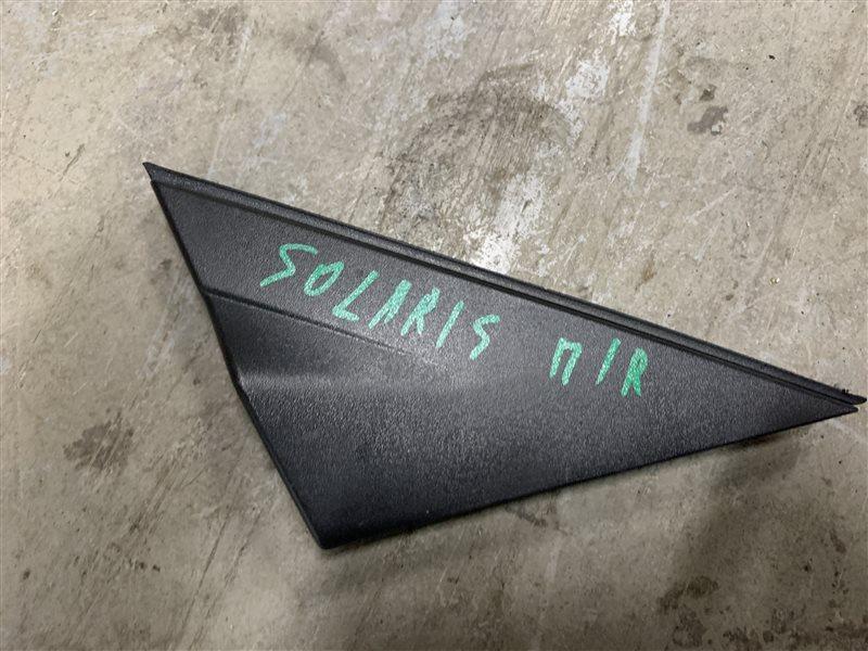 Уголок двери Hyundai Solaris RB G4FC 2013 передний правый (б/у)
