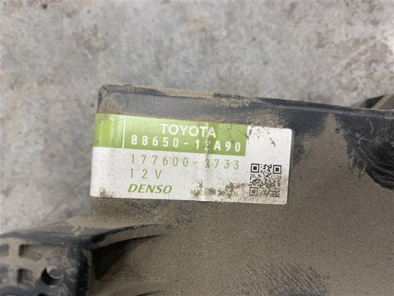 Блок управления печкой Toyota Corolla E150 E150 1ZR-FE 2008 (б/у)